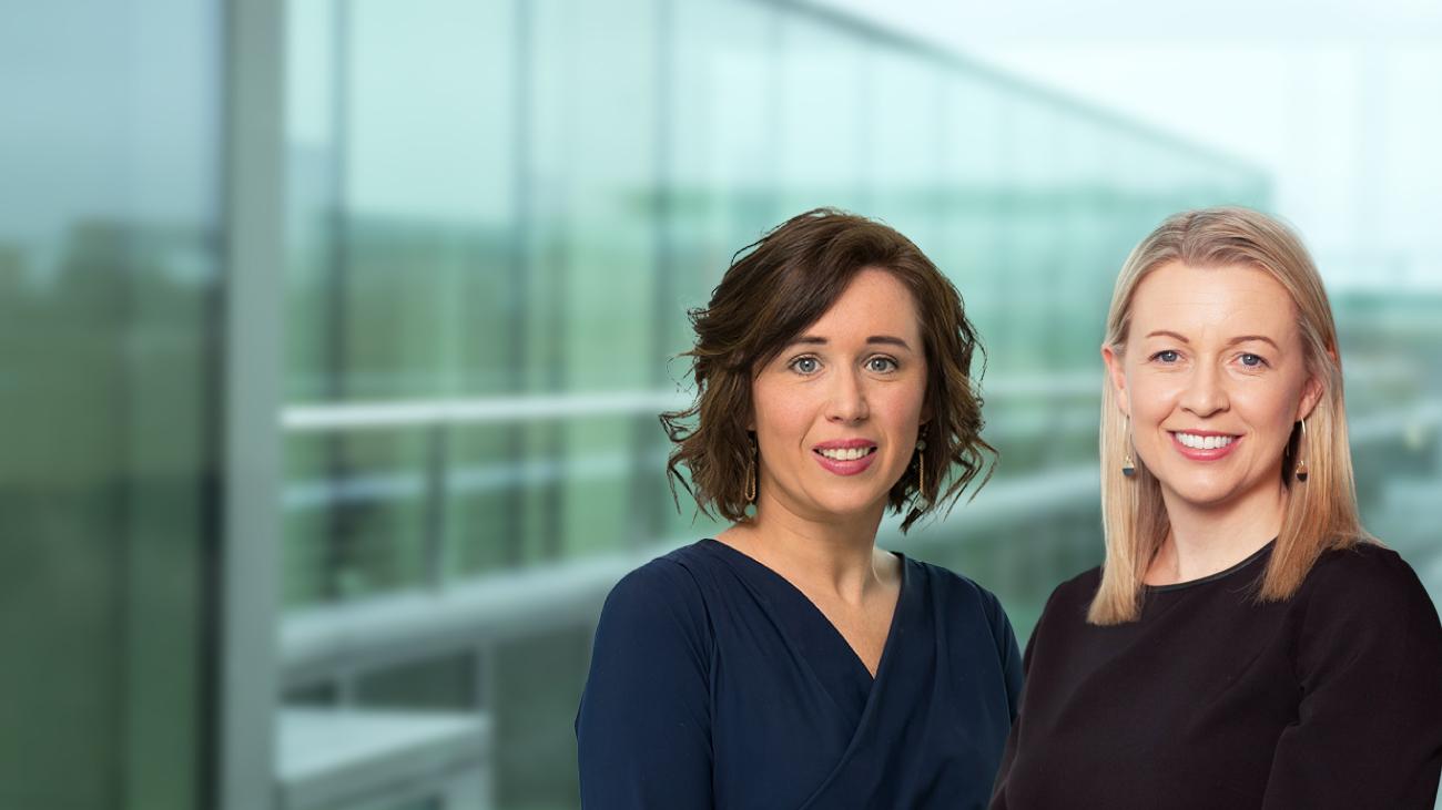 Niamh O'Shea & Deirdre McIlvenna