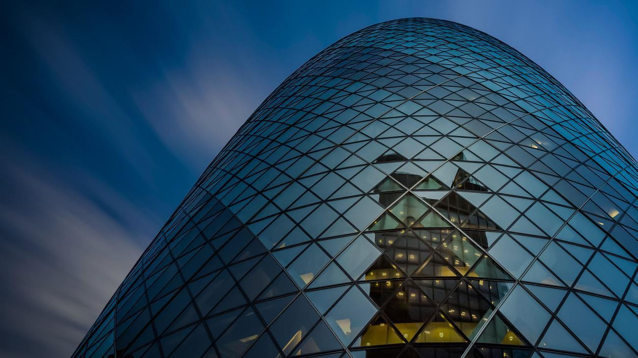 The Gherkin Skyscraper In London